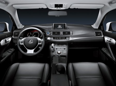 interior lexus ct-200h