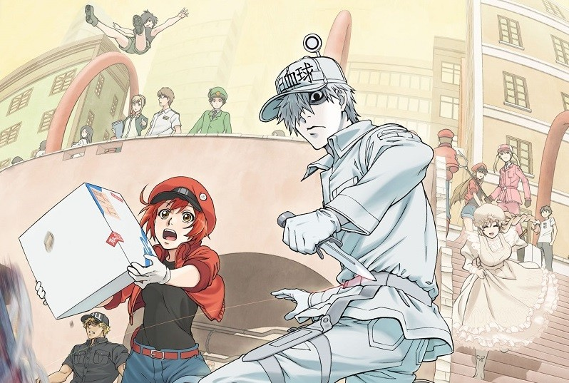 'Cells at Work!' es el anime que necesitamos ahora mismo: una versión de 'Érase una vez el cuerpo humano' más salvaje y divertida