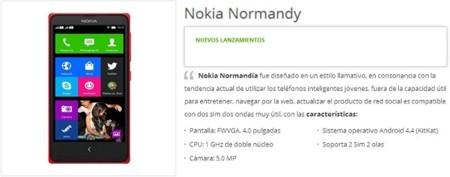 Nokia Normandy tendría acceso a los servicios de Google y llegaría con Android 4.4 KitKat