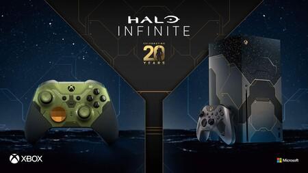 'Halo Infinite' llegará el 8 de diciembre y lo hará acompañado de un Xbox Series X y un control Elite que llegarán a México