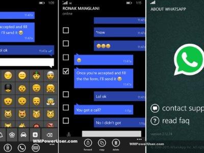 Los emojis con diversidad racial llegan a WhatsApp Beta para Windows Phone