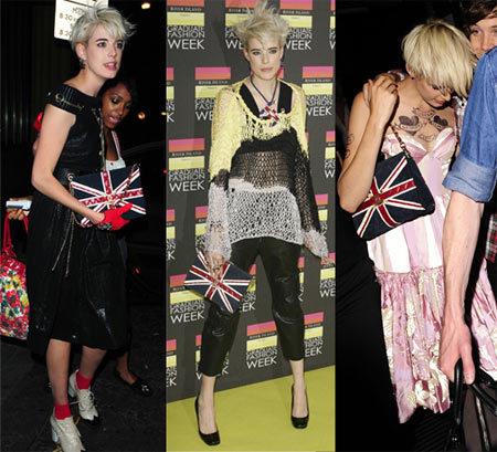 Agyness Deyn orgullosa del flair británico y de Chanel