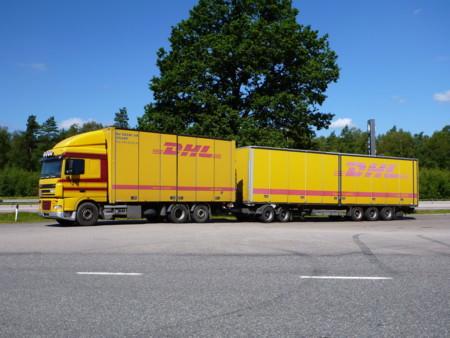 Dhl Daf Gigaliner Sweden
