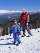 A esquiar con los niños