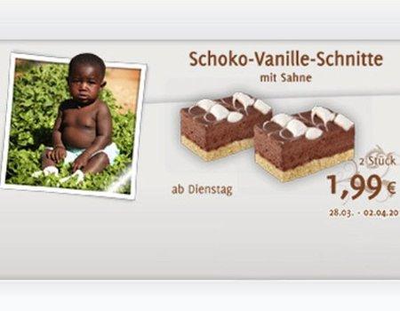 Un bebé negro protagoniza el polémico anuncio de unos pastelitos de chocolate