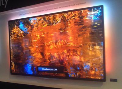 Philips 9000 Series Ultra HDTV con resolución 4K, toma de contacto