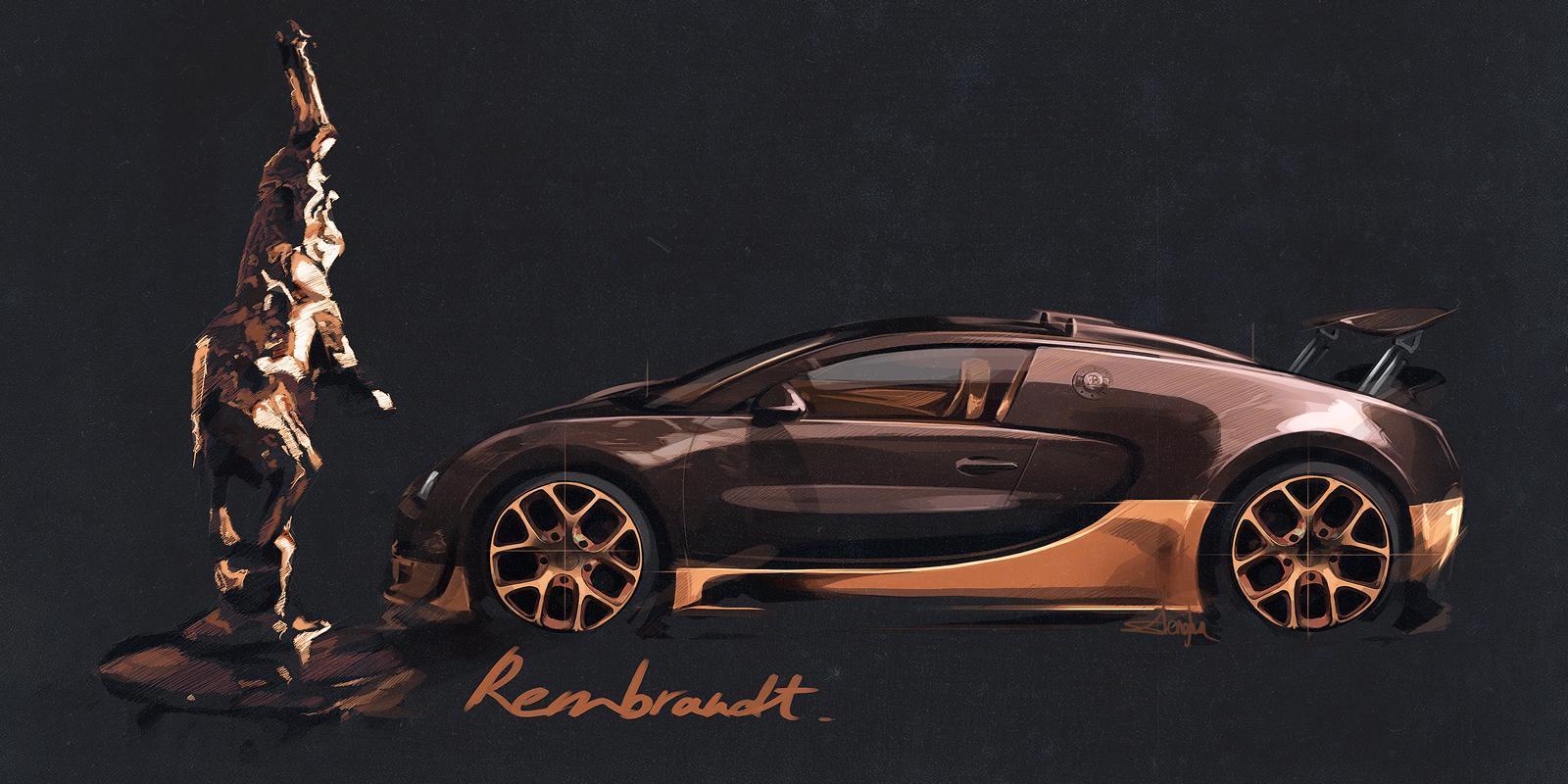"""Foto de Bugatti Veyron """"Rembrandt Bugatti"""" Legend Edition (14/16)"""