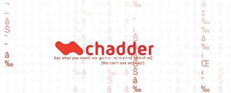 Chadder, la nueva aplicación de mensajería instantánea segura de John McAfee