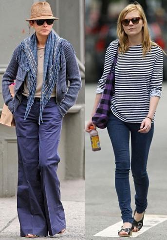 Look bohemio, dos actrices y un estilo