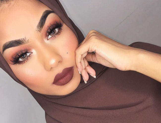 beauty instagram velo musulman belleza arabe hijab instagrammer blogger