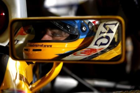 Fernando Alonso Renault 2008
