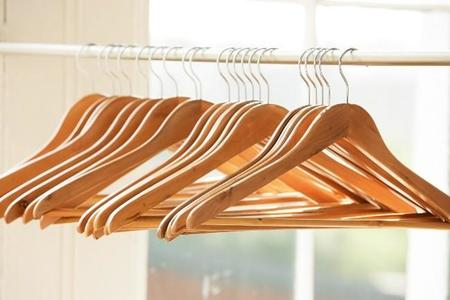 Closet Hangers Wood