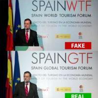 Cazadores de Fakes: ¿Mariano Rajoy con #SpainWTF? No, #SpainGTF