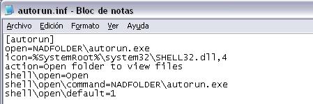 Autorun HTC Magic malware