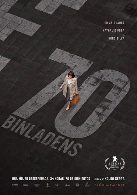 Cartel de la película 70 Binlandens, protagonizada por Emma Suárez.