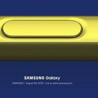 El Galaxy Note 9 ya tiene fecha de presentación, Samsung convoca a un evento para el 9 de agosto