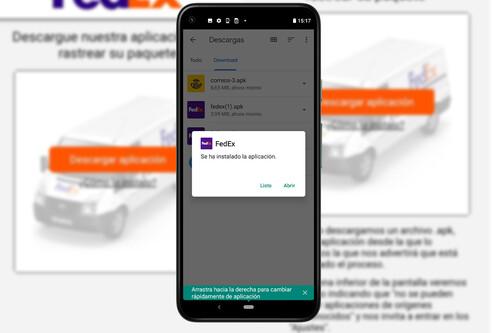 El troyano tras la estafa del SMS de FedEx, analizado a fondo: así funciona y así puedes eliminarlo