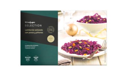 Lombarda Salteada Con Pasas Y Pinones Sin Gluten 3 Raciones Envase 850 G