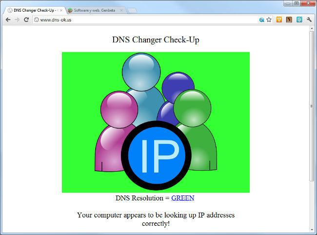 DNSChanger online tool