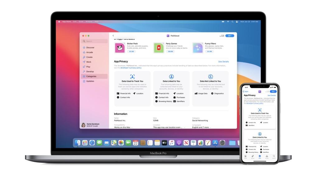 Apple se prepara para incluir información sobre la privacidad en todas las apps del App Store a partir de iOS y iPadOS 14