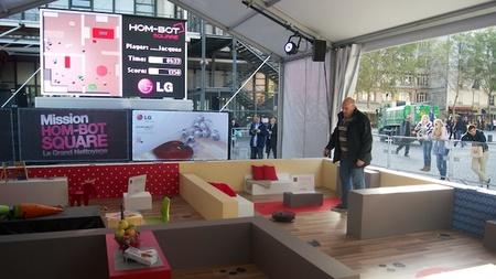 LG hombot square, presentación 4