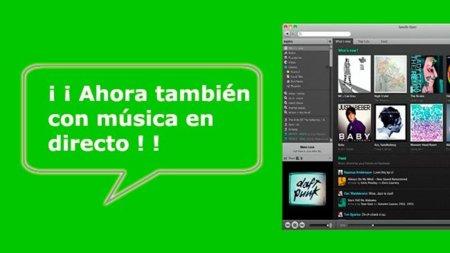 Spotify, ahora siguiendo conciertos en directo