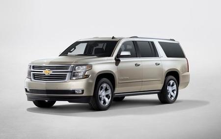 Nuevas Chevrolet Tahoe y Suburban 2015: estrenando diseño y tecnología