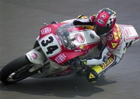 Kevin Schwantz en el GP de Japón 1993