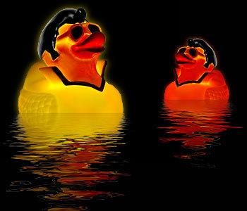 Elvis duck, el rey de tu bañera