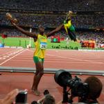 Los atletas olímpicos más rápidos en los 100 metros lisos