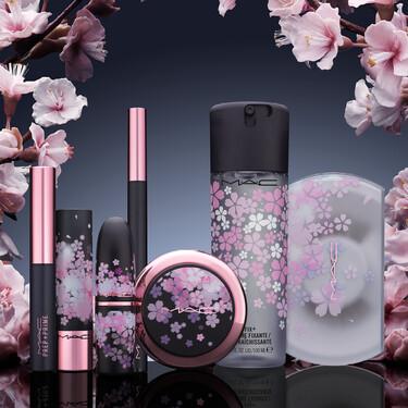 Las flores de cerezo más preciosas adornan la nueva colección de maquillaje de primavera en edición limitada de MAC