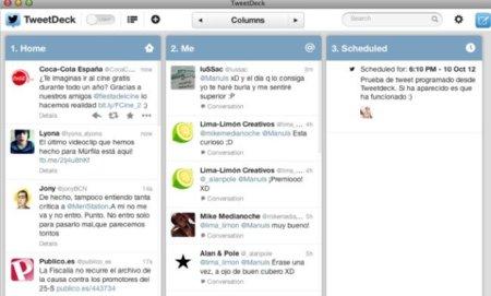 Twitter renueva Tweetdeck dándole un nuevo aspecto y nuevas funcionalidades