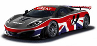 Un McLaren MP4-12C GT3 exclusivo en Goodwood