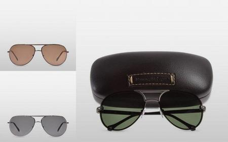 Las gafas de sol Ermenegildo Zegna para Primavera/Verano 2011: se impone la forma de gota