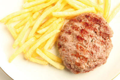 Hamburguesas con All-Bran® Flakes