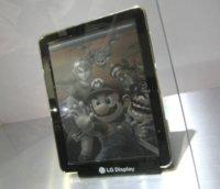 LG también apuesta por el color en los libros electrónicos