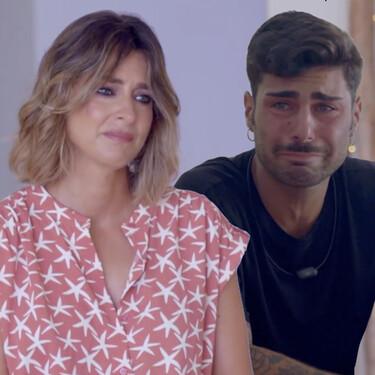 Sandra Barneda rompe a llorar tras escuchar estas emocionantes declaraciones de amor de Hugo Pérez en 'La Isla de las Tentaciones 3'