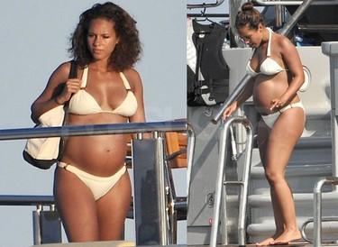 A Alicia Keys le sienta el embarazo a las mil maravillas