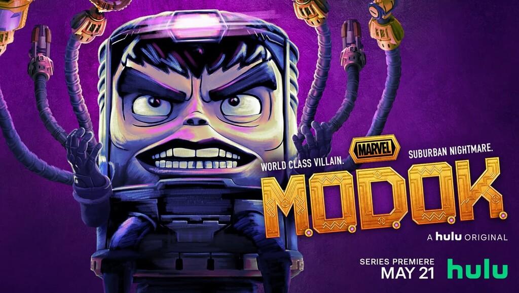 'M.O.D.O.K.': una hilarante serie en Disney+ que ofrece un refrescante giro de tuerca en stop-motion al mítico villano de Marvel