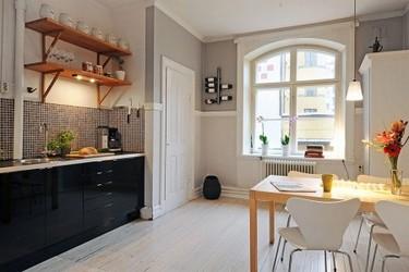 Puertas abiertas: comedor y cocina juntos pero no revueltos