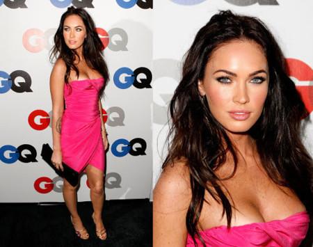 Megan Fox provocativa en la fiesta de los premios GQ