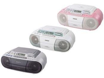 Sony CFD-S01, reproductor de CDs y casetes