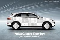 Expresa cómo te gusta el Porsche Cayenne y ellos lo fabrican