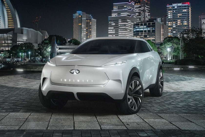 El Infiniti QX Inspiration Concept se descubre: así es este SUV eléctrico, listo para el Salón de Detroit