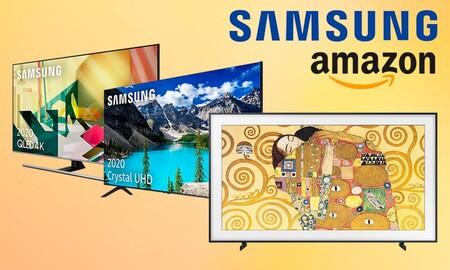Para ver la tele a lo grande o decorar tu salón: estas smart TVs de Samsung están de oferta en Amazon