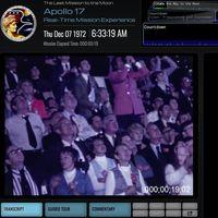 Revive la misión del Apollo 17 en tiempo real, justo cuando se cumple su 45º aniversario