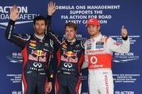 Pole de Sebastian Vettel y doblete de Red Bull en el Gran Premio de Japón