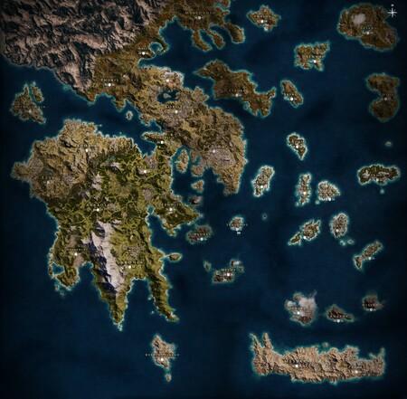 Mapa Odyssey