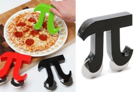 Pi, un cortador de pizza matemático