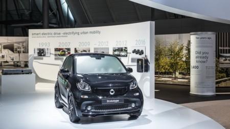 Daimler enseña antes de tiempo el próximo Smart ForTwo ED